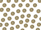 New Zealand One Dollar Coins — Stock Photo