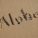 Aloha — Foto Stock