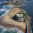 Stock Photo: Nobbys Lighthouse - Newcastle Australia