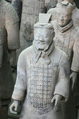 Terracotta warrior - Xian - China — Stock Photo
