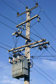 Power Pole and Transformer — Stock Photo