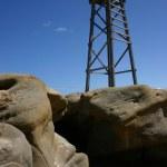 Redhead Beach Shark Tower — Stock Photo