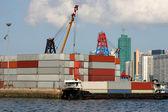 Containerschifffahrt — Stockfoto