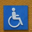 Disabled Sign — Stock Photo #43592449