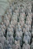 Terracotta Warriors - China — Stock Photo