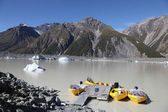 Tasman Lake - New Zealand — Stockfoto