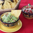 Guacamole Dip with Chips — Foto de Stock