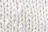 White knitting background — Stock Photo