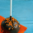 Two chocolate cake pops — Stock Photo