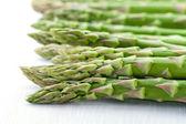 Fresh asparagus closeup — Stock Photo