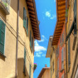 Small town street view in Porlezza — Stock Photo #32151985