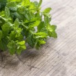 Stock Photo: Green fresh mint herbs