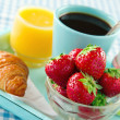 Heatlhy breakfast — Stock Photo