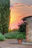 Picturesque Italian garden — Stock Photo