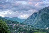 Small Italian village landscape — ストック写真