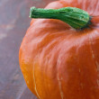 Stock Photo: Orange halloween pumpkin