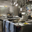 Stock Photo: Kitchen restaurant