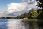 Swedish lake — Stock Photo
