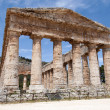 Segesta greek temple — Stock Photo