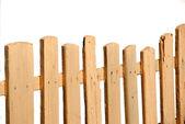 Cerca de madera — Foto de Stock