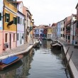Burano island - Venice — Stock Photo