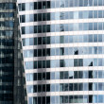 Building mirror facade — Stock Photo #15680555
