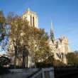 Paris - Notre dame — Stock Photo