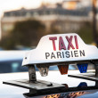 Paris - Taxi — Stock Photo #15681519