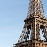 Tour eiffel in Paris - detail — Stock Photo