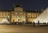 Paris - the Louvre — Stock Photo
