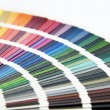 Pantone color card — Stock Photo