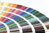 Pantone color card — Stock Photo