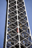 Eiffel Tower in Paris - detail — Stock Photo