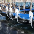 Stock Photo: Gondolas - Venice