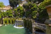 Villa d'Este in Tivoli - Italy — Stock Photo