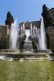 Villa Este in Tivoli - Italy — Stock Photo
