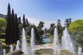 Villa Este in Tivoli - Italy — Stock Photo