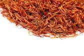 Saffron stigmas — Stock Photo