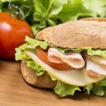 Chicken breast sandwich — Stock Photo #45696357