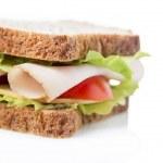 Chicken breast sandwich — Stock Photo #45696507