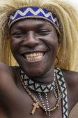 Tribal dancer — Stock Photo