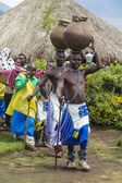 Tribal ritual - Rwanda — Stock Photo