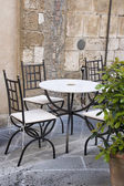 Outdoor cafe i — Stock Photo