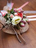 Torkade blommor sammansättning — Stockfoto