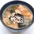 Royalty-Free Stock Photo: Bowl of organic iodine enriched gluten free seaweed and albacore gumbo