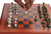 игра в шахматы — Стоковое фото