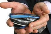 мобильный телефон — Стоковое фото