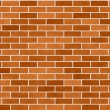 Brick Wall Seamless Background Small Bricks — Zdjęcie stockowe #12783568