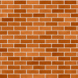 Brick Wall Seamless Background Small Bricks - Stock Photo