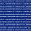3D Binary Code Background — Stockfoto